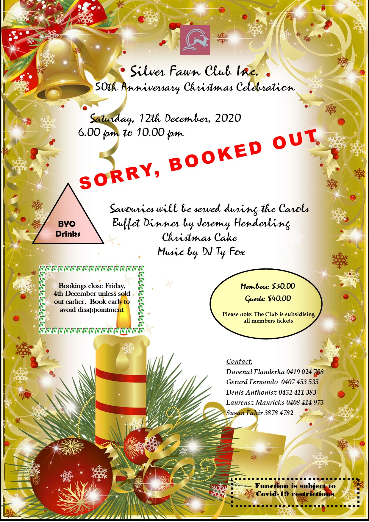 Updated Christmas Flyer